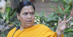 Uma Bharti English Board