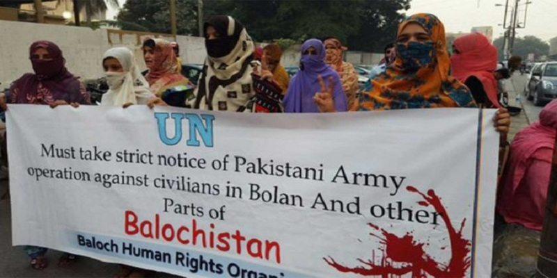 torture in bloch pakistan women