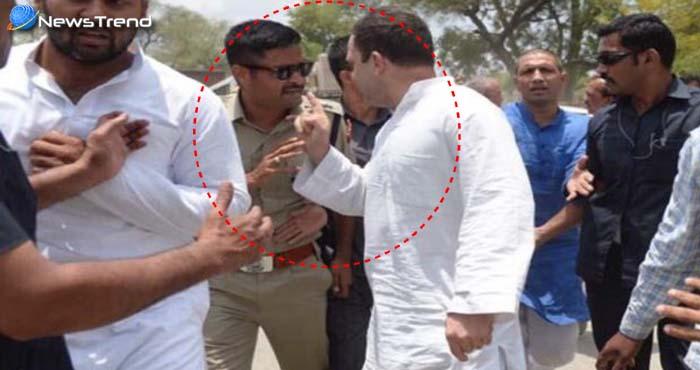 राहुल गाँधी का नया हाईबोल्टेज ड्रामा, मंदसौर जाते ही बरसने लगे पुलिस वालों पर!